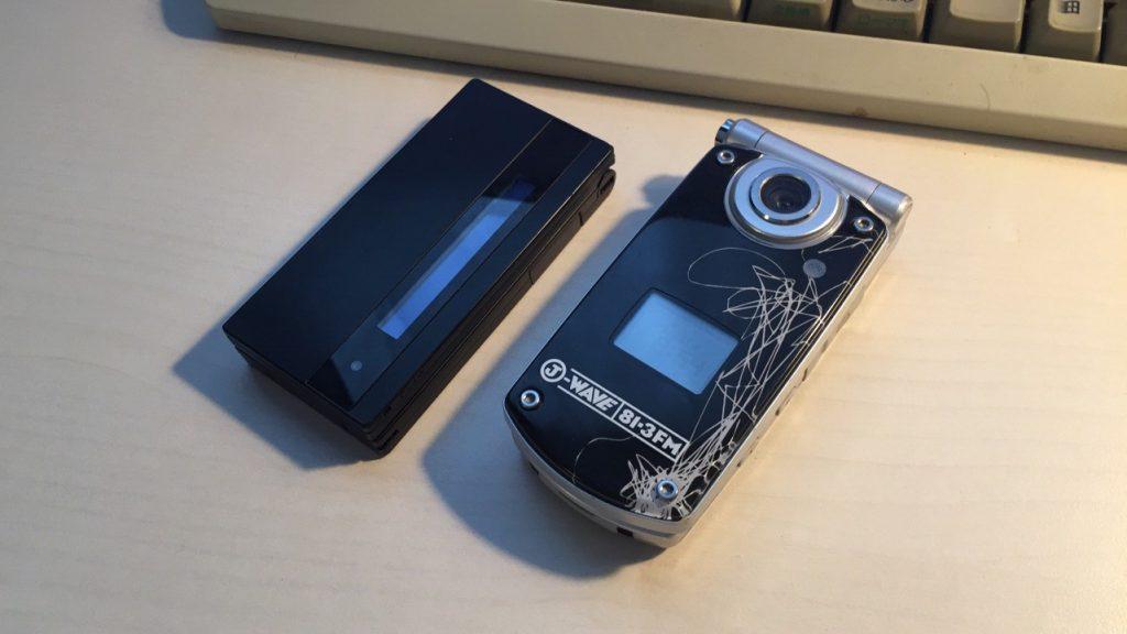 N703iDとP900i